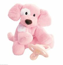 "Gund Spunky Pink Rattle  ""BRAND NEW"" (pacifier not included)"
