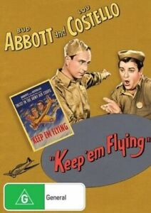 Keep 'Em Flying - Abbott and Costello New and Sealed DVD