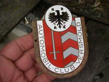 ADAC - AUTOMOBIL CLUB VERSMOLD - Plakette Badge Emblem
