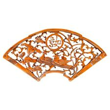HAND-MADE DECORATIVE WOODEN CARVED WALL PANEL  SANDAL WOOD *COOL GREAT GIFT*