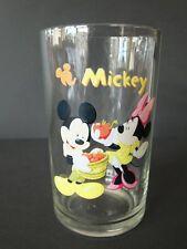 Disney altes Glas 80 iger Micky + Minnie Maus Mickey Mouse Trinkglas