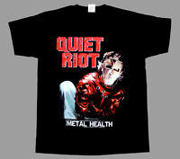 QUIET RIOT METAL HEALTH '83 NEW BLACK SHORT/LONG SLEEVE T-SHIRT
