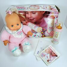Vintage Newborn Magic Bottle Baby Doll Tyco Original Box, Bottle Tested Works