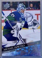 2020-21 Upper Deck Michael Dipietro #206 Young Guns