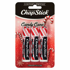 ⭐️YUM CHAPSTICK CHRISTMAS CANDY CANE LIMITED EDITION 3 STICKS