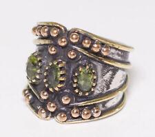 925 Sterling Silver Unisex Uniqe Unique perfect Ring, Rhodonite natural gemstone