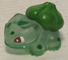 Authentic Pokemon Finger Puppet Clear Bulbasaur Catch Them All Nintendo Bandai
