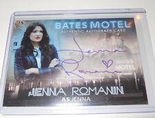 Bates Motel Autograph Trading Card Jenna Romanin as Jenna #AJR (Blue)