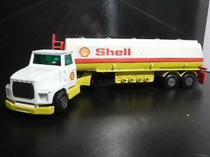 Matchbox Superkings Ford LTL Tractor and Shell Tanker Trailer K115 K16