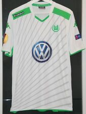FC WOLFSBURG (GERMANY) MATCH WORN SHIRT EUROPA LEAGUE SEASON 2014-15 FRANCE