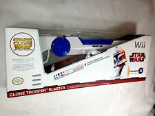 Star Wars Wii Wireless Clone Trooper Blaster Nintendo Wii With Bonus Sticker NEW