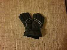 """Gloves""""H&M """" Thinsulate Insulation  Black Grey Mix Colour Size: 9-10 Years (UK)"""