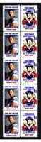 CENTENARY OF RUGBY STRIP OF 10 MINT VIGNETTE STAMPS CANTERBURY BULLDOGS SBW