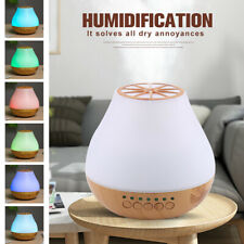 400ml LED Color light Cool Mist Aroma Humidifier Bluetooth Speaker Air Purifier
