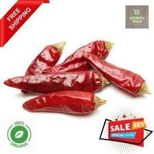 Ceylon Dried Red Chilli 100% ORGANIC Natural High Quality 100g FREE Shipping