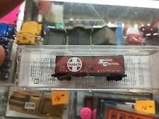 Z-Scale Mixro trains 500-00-047 ATSF 40 Sheathed Box Car