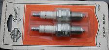PN 32314-83 NOS Original Harley Spark Plugs Fits XR-1000 ONLY Vintage OEM** #428