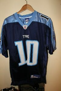 Reebok Tenn. Titans Vince Young Jersey men's medium