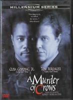 A Murder of Crows DVD, 1999, Special Edition Cuba Gooding Jr Tom Berenger