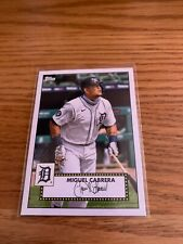 Lot of (10) 2021 Topps 1952 Redux #2 Miguel Cabrera - Tigers