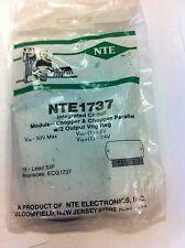 NTE1737 or NTE-1737 or ECG1737 Integrated circuit / module chopper & chopper