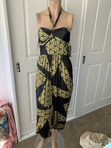 Sheike Aztec  Halter Or Strapless jumpsuit size 6 New Rrp$169.95