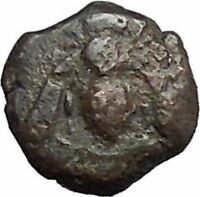 EPESUS Ephesos IONIA 405BC Bee Stag's Head Authentic Ancient Greek Coin i48243