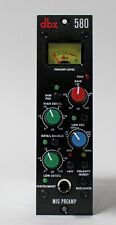 dbx 580 Microphone Preamp 500 Series Mic/Instrument Preamp