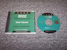 2004 Dodge Ram 1500 2500 3500 Truck Shop Service Repair Manual DVD Laramie SLT