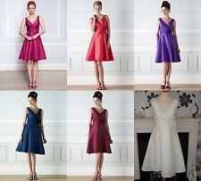BHS Cecily demoiselle d'honneur robe ivoire, fuchsia, Merlot, violet, Corail, Saphir