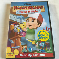 Handy Manny - Fixing It Right (DVD, 2010) NEW & SEALED / REGION 2