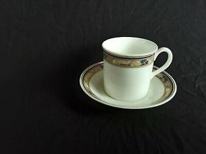 Hutschenreuther Espressotasse mit U-Tasse  Galleria Brocade Bone China 0,1 L.