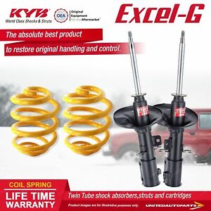 Front KYB EXCEL-G Shock Absorbers Lowered King Springs for KIA Cerato LD 2.0 I4