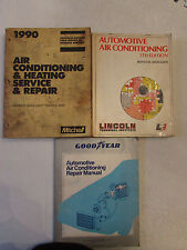 LOT 3 AUTOMOTIVE AIR CONDITIONING & HEATING SERVICE AND REPAIR MANUALS MITCHELL