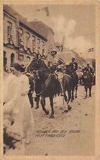 POSTCARD    ROYALTY    DENMARK   The  King  on  Horseback