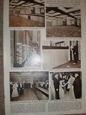 Photo article Queen Elizabeth opens new wing Baltic Exchange London 1956