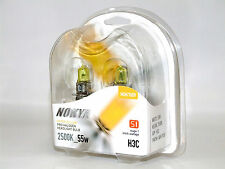 Nokya 2500K 55w Hyper Yellow H3C Halogen Fog Light Bulbs