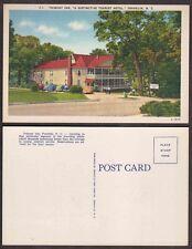 Old North Carolina Hotel Postcard - Trimont Inn - Franklin
