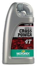 motorex cross power 4 temps 10 w 50 1 litre