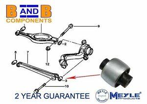 BMW REAR LOWER CONTROL ARM TRAILING BUSH 3 SERIES E46 33326771828 A200