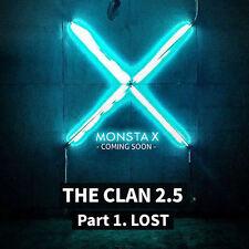 MONSTA X-[THE CLAN 2.5 PART.1 LOST] 3rd Mini Album FOUND CD+Photobook+etc