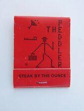 1980s Cerillos Caja de ~ El Vendedor Ambulante Bistec Casa & Lounge ~ Tennessee