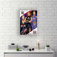 More details for wwe women wrestling 2022 a3 wall calendar