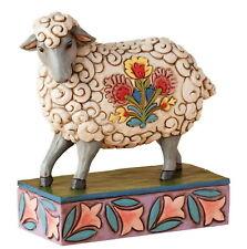 GENTLE AS A LAMB - FOLK SHEEP Figur Jim Shore 4039494 Heartwood Creek Enesco