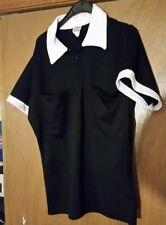 Empire Sporting Goods soccer/Field Hockey  Referee Jersey Size L SS NWOT Black
