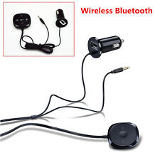 Wireless Bluetooth Handsfree Car Kit MP3 Player USB Charger For iPhone Samsung