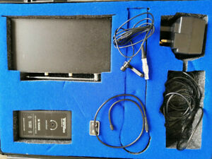 Trantec S1000 wireless microphone kit, with lavalier microphone.