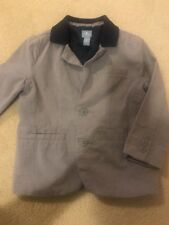 Baby Gap Gray Grey Navy Toddler 3t Boy Suit Dress Easter Blazer