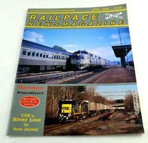 Railpace News Magazine Newsmagazine Train Illustrated Pictures Info April 2000