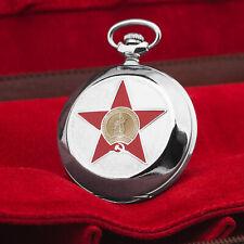 Taschenuhr MOLNIJA 3602 Hammer & Sichel Denkmal RODINA Wolgograd II WK russisch